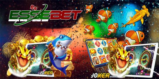 MENDAFTAR GAME IKAN ONLINE DI JOKER123 GAMING